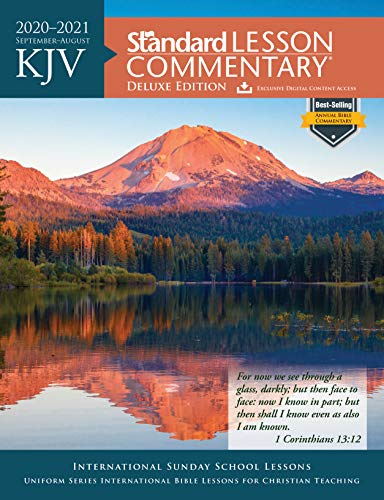 Compare Textbook Prices for KJV Standard Lesson Commentary® Deluxe Edition 2020-2021 Deluxe Edition ISBN 9780830779024 by Standard Publishing