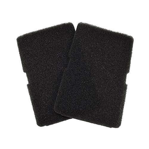 2 filtros de espuma evaporador para secadora Beko 2964840100