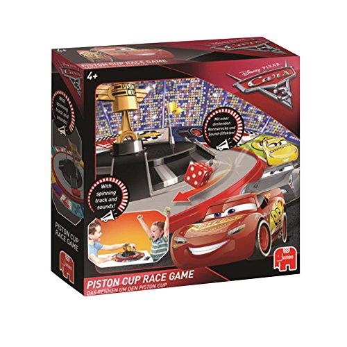 Jumbo Spiele 19417 Disney Cars 3 - Piston Cup Race Spiel