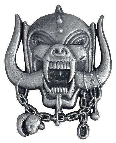 Motörhead Metal Warpig Unisex Pin grau Zinklegierung Band-Merch, Bands