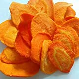 Glorious Inheriting origen asiatica congelada seca zanahoria de pieza crujiente con peso neto de 1.5KGS / 1,500 gramos