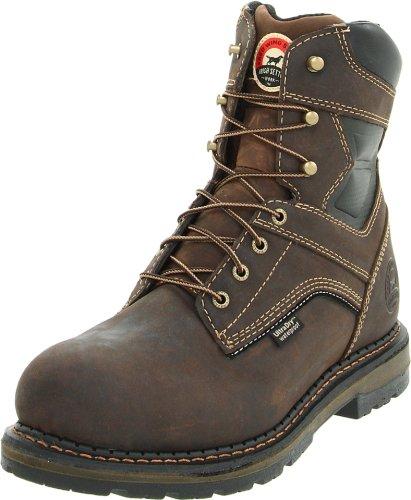 Irish Setter Men's 83801 8' Work Boot,Brown,13 D US
