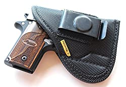 5 Best Kimber Micro Carry IWB Holsters (Kydex & Leather)