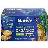 Açúcar Demerara Orgânico 50 sachês de 5g Native