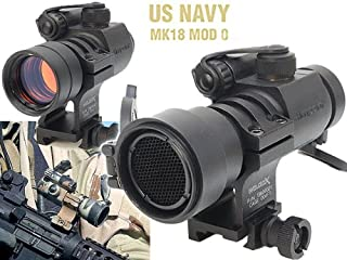 全てリアル刻印仕様【Aimpoint&Wilcoxタイプレプリカ】 MK18 COMP M2 SEALs Edition (キルフラッシュ装備のNavy SEALs仕様のドットサイト)