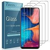TOCOL [3 Stück] Schutzfolie für Samsung Galaxy A20e Panzerglas, [9H Festigkeit Panzerglasfolie], [HD Klar ] [Blasenfrei] Bildschirmschutzfolie