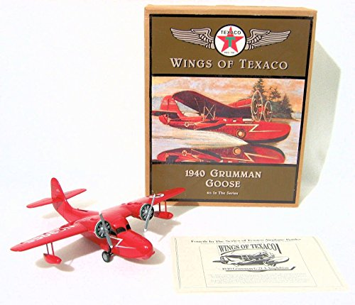 Wings of Texaco - 4th in the Series - 1940 Grumman Goose Die Cast Model/Coin Bank