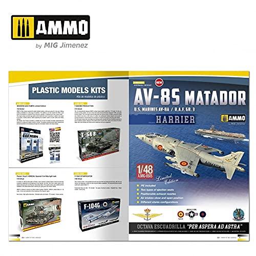 『アモ AMMO カタログ 2021年 プラモデルカタログ AMO-8300』の6枚目の画像