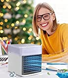 2021 Blast Portable AC - Summer Evaporative Air Conditioner Fan with 3 Wind Speed, 2021 USB Water-cooled Air Cooler with Night Light, Ultra Personal AC Fan for Carbon Neutrality, Home, Office, Camping