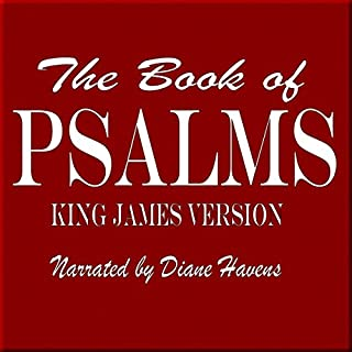 The Book of Psalms: King James Version audiobook cover art