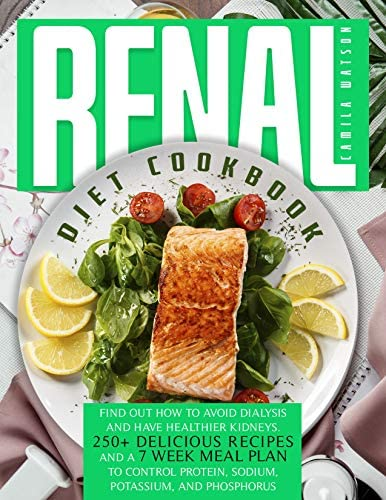 RENAL DIET COOKBOOK FIND OUT HOW TO AVOID DIALYSIS AND HAVE HEALTHIER KIDNEYS 250 DELICIOUS product image