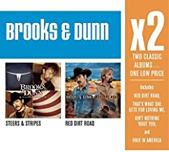 X2 (Steers & Stripes/Red Dirt Road) by Brooks & Dunn (2008-09-16)
