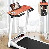 DEAR-JY Faltbare Motorisierte Laufbänder,Gym Haushalt Tragbarer Kleiner LCD-Monitor Ultra Leise Indoor-Fitnessgeräte,Multifunktionale Mechanische Maschine Laufband Jogging Walking Maschine