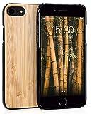 MyGadget Carcasa en Madera de Bambu Auténtica - Funda Rígida y Elegante para Apple iPhone 6 / 6s /...