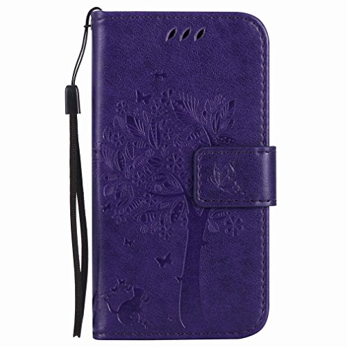 Yiizy Nokia Lumia 635 RM-974 RM-975 Funda, árbol De Dibujo Diseño Billetera...