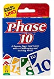 From the makers of UNO! A rummy-type card game with a challenging and exciting twist! Be the first player to complete 10 varied Phases-two sets of three, one run of seven, seven cards of one color and more The twist is that each Phase to be completed...