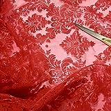 Cheapest Fabrics UK Vorhang, Organza-Stoff, geprägt,
