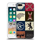 Official HBO Game of Thrones House Sigils Battle of The Bastards Soft Gel Case Compatible for iPhone 7 Plus/iPhone 8 Plus