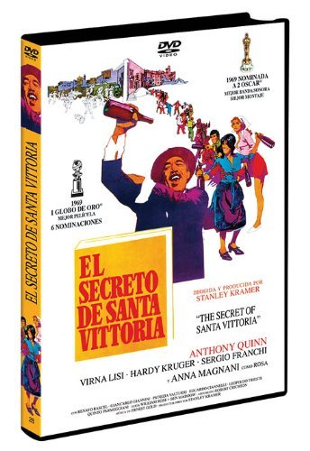 EL Secreto De Santa Vittoria (Import Movie) (European Format - Zone 2) (2013) Anthony Quinn, Anna Magnani, Vi