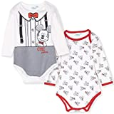 Disney - Body - para bebé niña Blanco Mickey Mouse - C Pattern 12-18 Meses