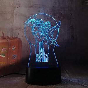 3D Led Night Light Lamp Cool Child Harley Quinn SDSDEK