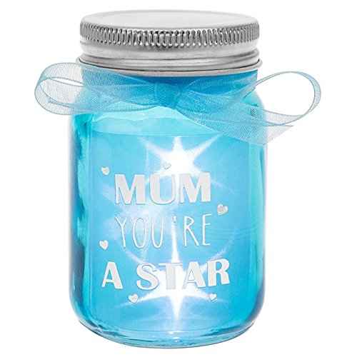 LED Light Up Bottle Gift For Mum - Mum You're A Star