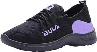 Scarpe da Ginnastica Uomo Nero Sneakers Sportive Offerta Calzature Vintage Soft Scarpe Donna Sneakers Sportive Eleganti Ru...