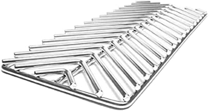 Quick BBQ Parts BBQ04100659 Grate V Style Grill Gate, Silver
