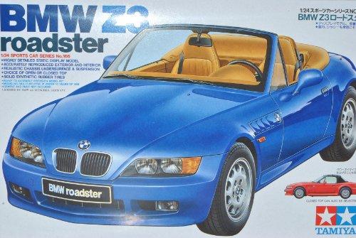 alles-meine.de GmbH B-M-W Z3 E36/7 Roadster Blau 1995-2002 24166 Kit Bausatz 1/24 Tamiyia Modell Auto Modell Auto