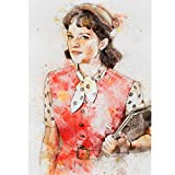 ClifeDesign Peggy Olson Poster Mad Man Poster Print Unframed (15' x 21')