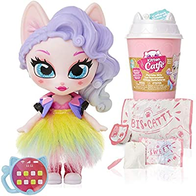 Kitten Catfé Purrista Girls Doll Figures Series 1 - 12 Different Purrista Girls to Collect Each Comes Individually Blind Packed in Its Own Coffee Cup, Which One Will You Get