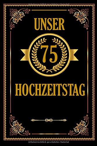 Unser 80 Hochzeitstag: Romantisches Gästebuch Zum Hochzeitstag I A5 110 Seiten Viel Platz Für...