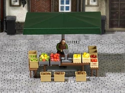 ahorra hasta un 70% Busch 7706 7706 7706 Market Stall (Fruit) Scene  orden ahora con gran descuento y entrega gratuita
