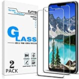 [2-Pack] KATIN For LG G7 ThinQ Tempered Glass Screen Protector No-Bubble, 9H Hardness, Easy to Install