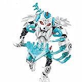 WSKL Star Warrior Soldiers Bionicle Hero Factory Robot Figuras Bloques de construcción Ladrillos Juguetes para niños