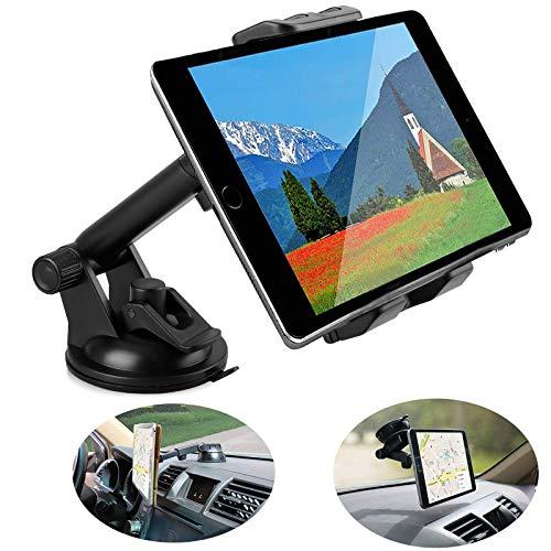 Linkstyle Kfz Tablette Halterung Universal Windschutzscheiben Auto Handyhalter 360° Schwenken mit Saugnapf Kompatibel mit Samsung Galaxy/iPad Mini/iPad/iPad Pro/iPhone (4-12 Zoll)