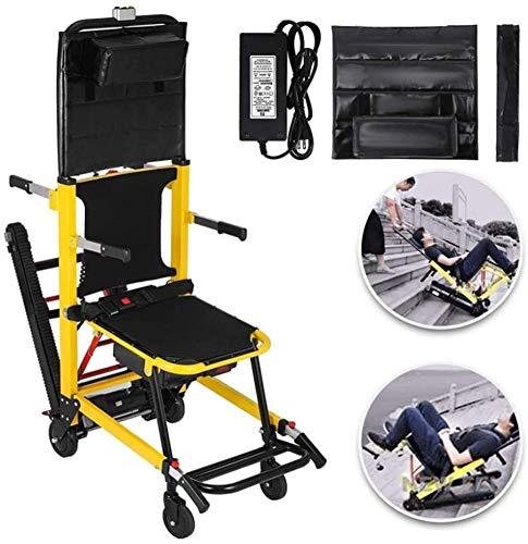 Klettern im Treppenhaus, Crawler im Klettern im Rollstuhl, Elektrisch im Obergeschoss, Der alte Mann im Klettern im Rollstuhl, Behindertes leichtes Zusammenklappen, Lager 160-180 kg