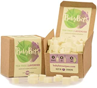 Baby Bits Wipes Solution - Makes 1,000 Natural Wipes • Made in the USA! (