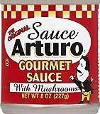Sauce Arturo Original Gourmet Sauce with Mushrooms, (8 oz) Cans (6 Pack)