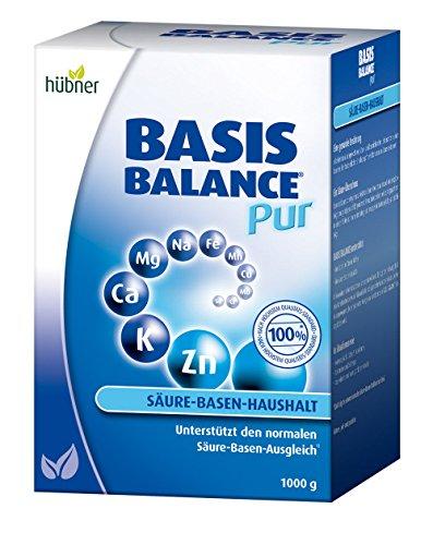 hübner Basis Balance Pur Pulver für den Säure-Basen-Haushalt (1000g)