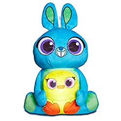 2-in-1 kids night light and soft toy Brighten up bedtime with this carnival duo from Toy Story Simply squeeze ducky and watch him glow, offering a comforting night time glow 10 minutes automatic shut off Ideal for helping children sleep at night
