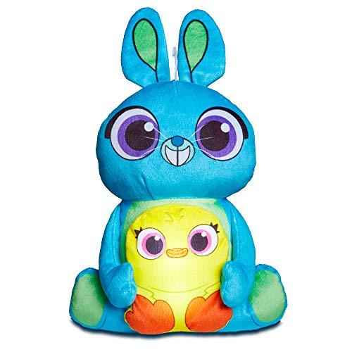 Toy Story 258TYY 4 Ducky and Bunny Kids Luz de noche para dormir de juguete suave por GoGlow, azul