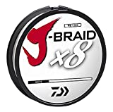 Daiwa J-Braidx8 Braided Line White
