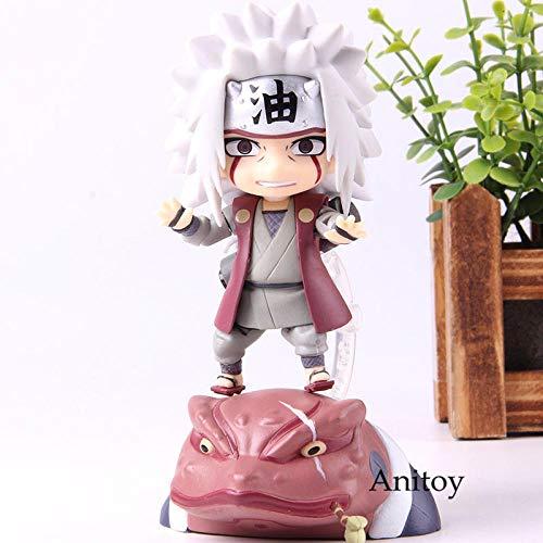 MNZBZ Naruto Figura Gama Sennin Jiraiya Q Versión Producto No 886 Figura de acción Colección Modelo Toy Doll para Regalo