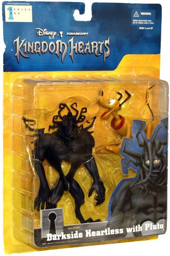Kingdom Hearts Figur Darkside Heartless with Pluto