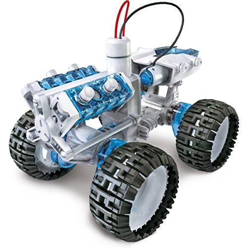 The Source Eau salée 4x4 Propulsé enfants de bricolage Car Kit moteur sciences de l'éducation