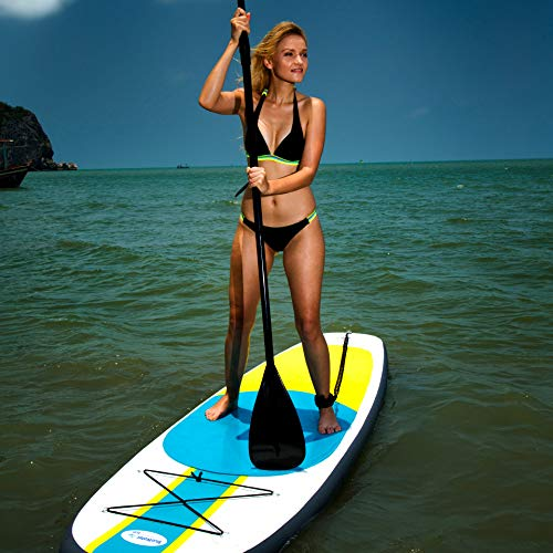 Product Image 9: 10' Inflatable Stand Up Paddle Board / Kayak And SUP! (6 Inches Thick, 32 Inch Wide Stance Width) |11-Piece Accessory Set That Includes Convertible Paddle, Kayak Seat, Travel Backpack, And More!