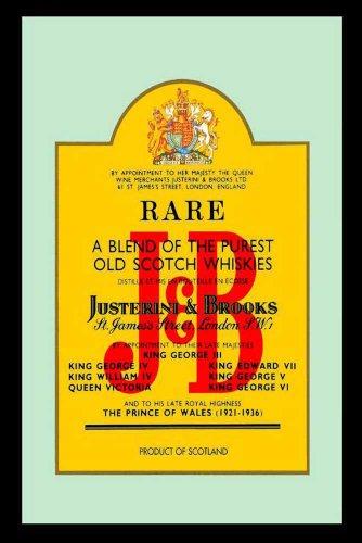 empireposter – J & B – whiskey – afmetingen (cm), ca. 20x30 - Bedrukte spiegel, NIEUW - beschrijving: - Bedrukte wandspiegel met zwart kunststof frame in houtlook -
