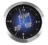 Reloj de pared billetes - bonito regalo para músicos