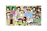 ZGPTOP Puzzles Creyón Shin-Chan Puzzles 5000 Piezas Educativos Juegos Inteligencia Niños Puzzles Entretenimiento Rompecabezas (Color : A, Size : 5000P)